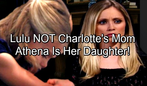 General Hospital Spoilers: Is Lulu Fighting For Custody of The Wrong Daughter - Athena Is Lulu's Child, Not Charlotte?
