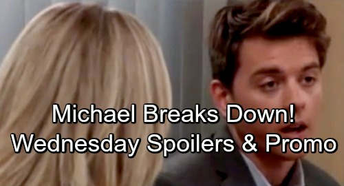 General Hospital Spoilers: Wednesday, September 19 – Kiki Comforts Griffin – Michael Crumbles – Nina Fears for Maxie
