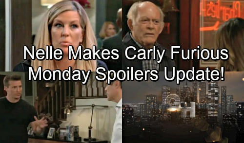 General Hospital Spoilers: Monday, September 10 Update – Nelle's News Infuriates Carly – Kristina Plays the Hero in Explosion