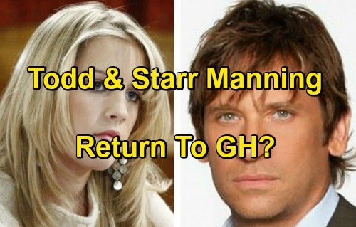 General Hospital Spoilers: Will AMC and OLTL Characters Move To GH - Todd Manning and Starr Manning First Choices
