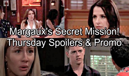 General Hospital Spoilers: Thursday, August 16 – Margaux Digs for Dirt – Michael Gets Tough Love – Sam Supports Distraught Kristina