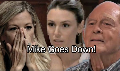 General Hospital Spoilers: Sonny's Downfall Begins, Mike Dragged Into Disaster – Carly Panics as Margaux's Fight Gets Fierce
