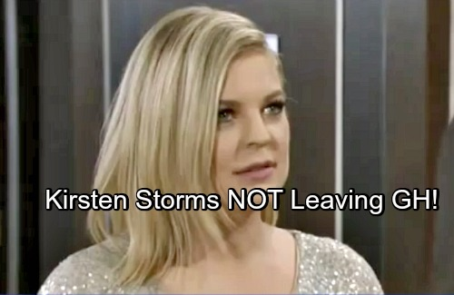 General Hospital Spoilers: Kirsten Storms NOT Leaving GH Now
