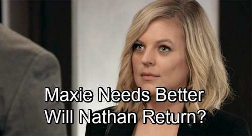 General Hospital Spoilers: Peter Winning Maxie's Heart – Is GH Ignoring Better Love Interests for Maxie, Will Nathan Return?