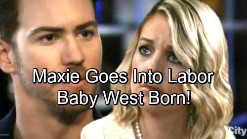 General Hospital Spoilers: Maxie In Labor, Peter Leaps Into Action – Baby West's Arrival Brings Shocking Emotional Moments