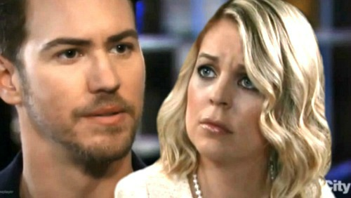 General Hospital Spoilers: Peter Exposed as Heinrik At Nurses Ball - Bombshell Sends Maxie Into Labor