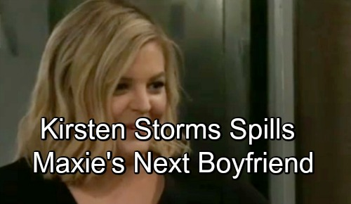 General Hospital Spoilers: Kirsten Storms Dishes on Maxie's Next Romance - Hints At Who Is The Lucky Man