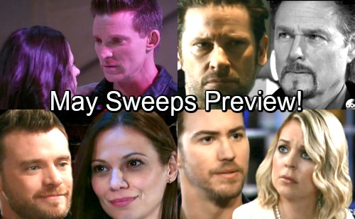 General Hospital Spoilers: May Sweeps Preview Shockers – Sam Falls For Jason - Jim's Shocking Evil Legacy Revealed