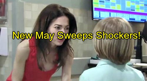 General Hospital (GH) Spoilers: New May Sweeps Shockers Revealed - Dead Body Crushes Morgan - Liz Humiliated at Nurses Ball