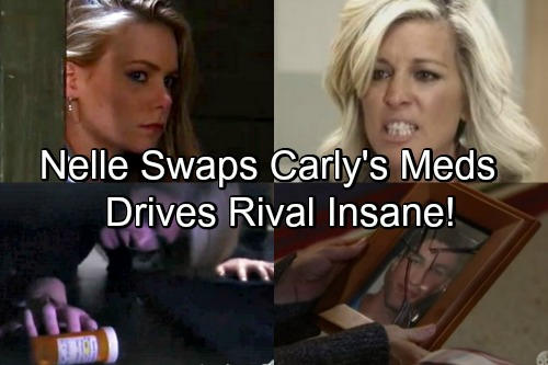 General Hospital Spoilers: Nelle Switches Carly's Meds - Drives Rival Insane With Page Out Of Ava's Playbook