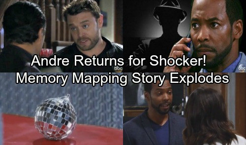 General Hospital Spoilers: Anthony Montgomery Leaks GH Mystery Unfolds - Andre's Memory Mapping Story Explodes