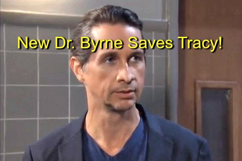 General Hospital (GH) Spoilers: Tracy's Life Saved by Doc Marcus Byrne, Michael Easton's New Character