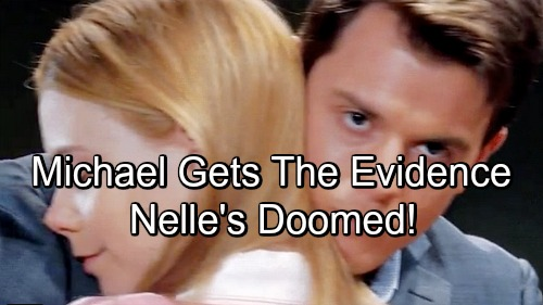 General Hospital Spoilers: Spinelli Comes Through with Crazy Evidence – Michael Gets What He Needs to Destroy Nelle