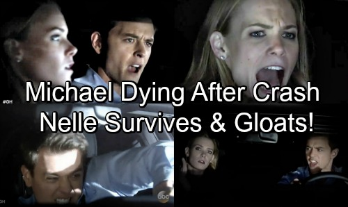 General Hospital Spoilers: Nelle Survives Car Accident, Gloats Over Dying Michael – Corinthos Family Needs a Miracle