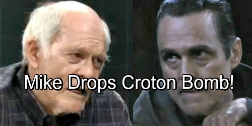 General Hospital Spoilers: Mike Drops Shocking New Croton Bomb – Desperate Sonny Scrambles to Avoid Exposure