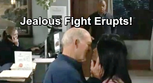 General Hospital Spoilers: Sonny Breaks Up Fight Between Mike and Marcus - Jealousy Over Yvonne Goes Too Far?