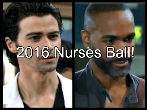 General Hospital (GH) Spoilers: Nurses Ball 2016 Preview and Details - Griffin and Curtis Joins Magic Milo Lineup?