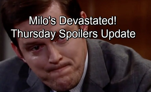 General Hospital Spoilers: Thursday, July 5 Update – Sonny Comforts Devastated Milo – Julian Learns Ava's Plan – Griffin's Wrong Move