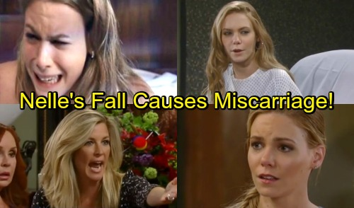 General Hospital Spoilers: Nelle's Staircase Fall Leads To Miscarriage – Fakes Rest of Pregnancy, Plots Baby Theft