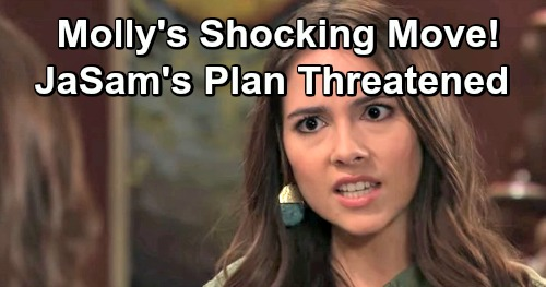 General Hospital Spoilers: Molly Poses Major Threat to JaSam's Plan – Whole Shiloh Plot in Jeopardy
