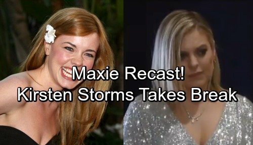 General Hospital Spoilers: GH Recast News - Molly Burnett Replaces Kirsten Storms As Maxie