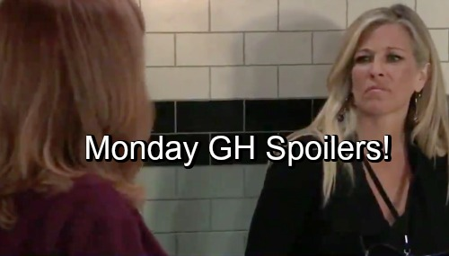 General Hospital Spoilers: Monday, October 29 – Britt Shocking Offer from Anna – Margaux Grills Michael – Sonny Fears the Worst