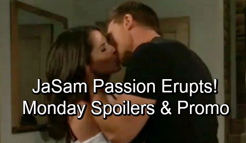 General Hospital Spoilers: Monday, October 8 – Jason and Sam's Erupting Passion – Valentin and Laura Clash – Margaux's Infuriating News