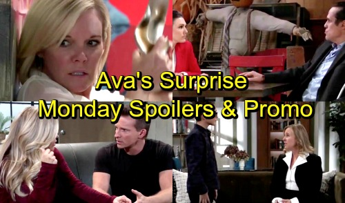 General Hospital Spoilers: Monday, November 5 – Carly Vows to Jason – Ava Faces Attacker – Sonny Warns Margaux Off