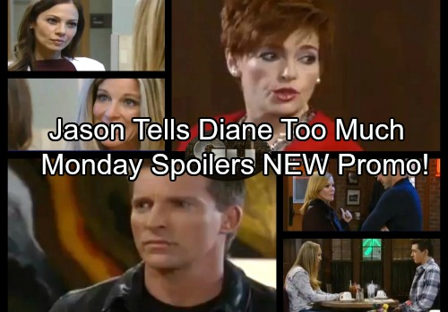 General Hospital Spoilers: Monday, January 15 Update – Jason Gives Diane The Faison Scoop – Ava Stirs Up Trouble