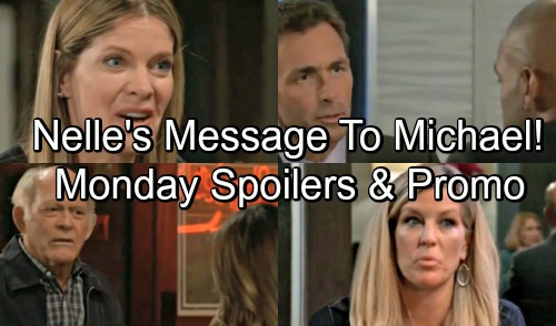 General Hospital Spoilers: Monday, September 10 – Mike's Pub Sabotage Brings Panic, Kristina In Danger – Nelle's Message to Michael