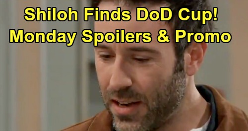 General Hospital Spoilers: Monday, April 15 – Shiloh Finds DoD Cup – Willow's Urgent Michael Meeting – Spencer Rats To Nina