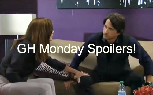 'General Hospital' Spoilers: Hayden Rescues Finn - Alexis Hauled to Jail - Nina Wants Franco Undressed
