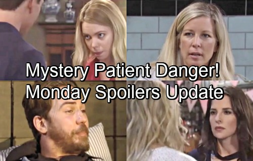 General Hospital Spoilers: Monday, July 2 Update – Carly's Mystery Patient Danger – Curtis Rattles Nina – Michael Pacifies Nelle