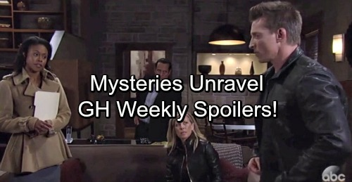 General Hospital Spoilers: Week of November 13 – Growing Battles, Mysteries Solved and Heated Confrontations