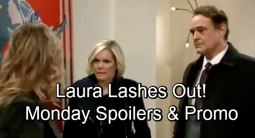 General Hospital Spoilers: Monday, November 26: Michael Grows Closer to 'Wiley' – Laura Blasts Kissing Ava and Ryan – Oscar's Stuck