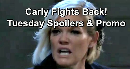 General Hospital Spoilers: Tuesday, December 11 – Valentin and Sasha Raise Nina's Suspicions – Carly Fights Back – Chase's Setback