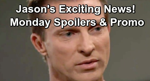 General Hospital Spoilers: Monday, December 17 – Jason Has Exciting News – Charlotte's Tough Apology – Mike Provokes Marcus' Wrath