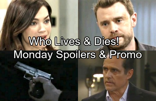 General Hospital Spoilers: Monday, April 9 – Drew Races to Stop Murder – Terrified Carly Confesses to Sonny
