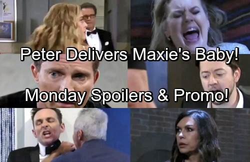 General Hospital Spoilers: Monday, May 21 – Peter Delivers Maxie's Baby – Robert Demands Justice – Dr. Bensch Corners Kiki