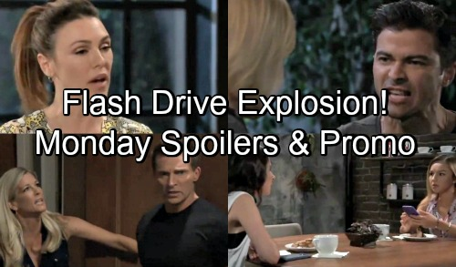 General Hospital Spoilers: Monday, August 27 - Family Therapy Showdown - Flash Drive Confrontation - Mike Panics, Guns Drawn