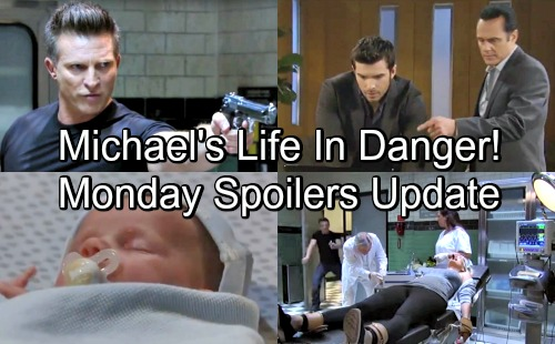 General Hospital Spoilers: Monday, July 30 Update – Sonny Desperate to Save Michael's Life – Stone Cold In Action