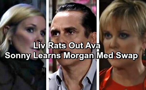 General Hospital Spoilers: Liv Saves Herself From Sonny, Throws Ava Under the Bus - Morgan Med Switch Revealed