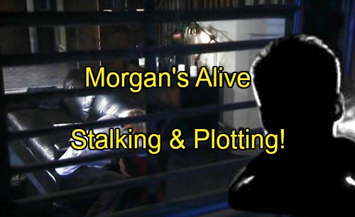 'General Hospital' Spoilers: Morgan Alive and Stalking Ava For Revenge Over Med Swap