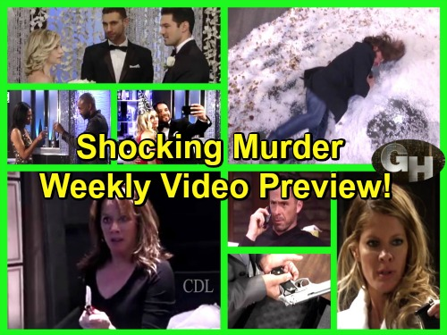 General Hospital Spoilers: Shocking Weekly Video Preview - Murder Weapons Come Out - Who Lives, Who Dies?