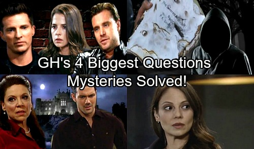 General Hospital Spoilers: 4 Burning GH Questions – Hottest Mysteries Solved as Drama Explodes