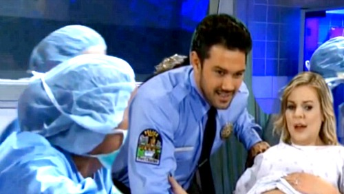 General Hospital Spoilers: Nathan Visits Maxie During Difficult Childbirth – Dead Hubby Pushes Her to Fight for Their Baby