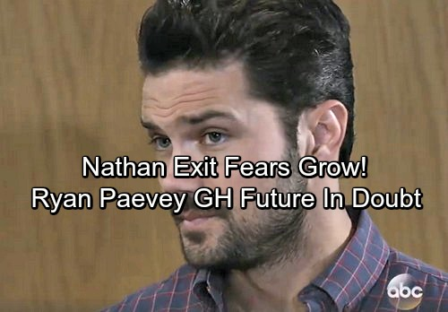 General Hospital Spoilers: Ryan Paevey's GH Future in Jeopardy – Nathan Exit Concerns Grow
