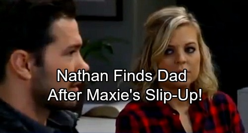 General Hospital Spoilers: Nathan Discovers Shocking Dad After Maxie's Slip-up