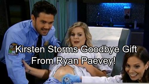 General Hospital Spoilers Ryan Paevey Gives Kirsten
