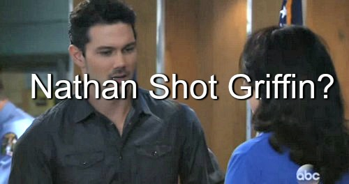 General Hospital (GH) Spoilers: Griffin Past Revealed - Nathan Shot the Doc for Claudette Cheating?